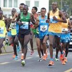 Seit Jahrzehnten dominieren Läufer aus (Ost-)Afrika den internationalen Laufsport. Bei den Laufsportveranstaltungen nimmt Afrika aber eine Nachzügler-Rolle ein. © SIP / Johannes Langer