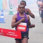 Birhanu Legese hat im November auch den Neu Delhi Halbmarathon gewonnen. © Neu Delhi Halbmarathon