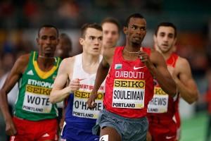 Im Vorlauf noch Top, im Finale Flop: Ayanleh Souleiman © Getty Images for IAAF / Christian Petersen
