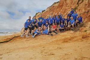 Ein Bild vom Laufcamp an der Algarve vom 5.–12. Feber 2016