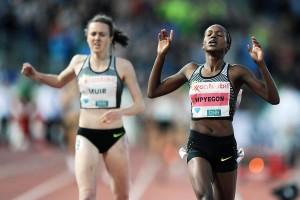 In Oslo musste sich Laura Muir zuletzte nur Faith Kipyegon geschlagen geben. © Diamond League / Athletics Images
