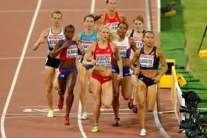 Renelle Lamote, hier beim WM-Halbfinallauf in Peking, geht als klare Favoritin auf EM-Gold ins Finale über 800m. © Getty Images for IAAF)