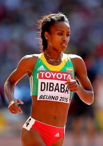 Trotz der Doping-Anschuldigungen gegen ihren Coach ist Genzebe Dibaba in Rio am Start. © Getty Images for IAAF / Alexander Hassenstein