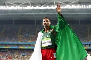 Zum zweiten Mal Silber im Olympiastadion von Rio – Taoufik Makhloufi. © Getty Images