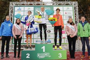 Die schnellsten Drei bei den Damen. © Veranstalter / Belga