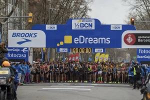 © Barcelona Halbmarathon / Facebook / Cristian Casal