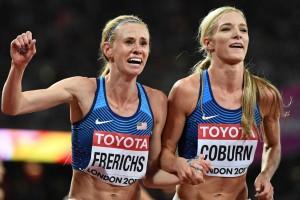 Die erfolgreichen Hindernisläuferinnen von London laufen dieses Mal die 3.000m flach. © IAAF Weltmeisterschaften in London
