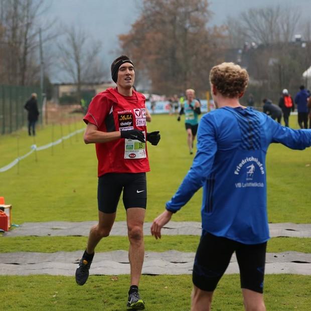 Andreas Vojta (3.) und Ricahrd Ringer (Sieger) jubelten vergangenes Wochenende über ein gutes Resultat in Salzburg. In Tilburg sind sie wieder Konkurrenten. © CrossAttack