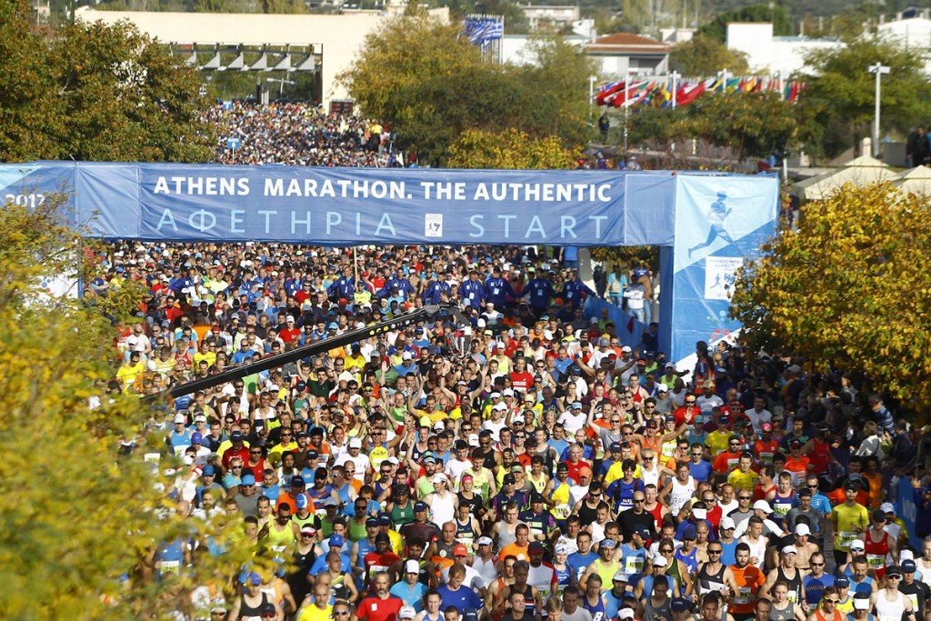 Der Start in Marathon. © SEGAS-AMA