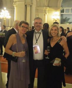 Mit Elana Meyer (l.) und der ehemaligen Marathon-Weltrekordhalterin Ingrid Kristiansen bei dei der Feier des 100-jährigen Bestehens der IAAF. © SIP / René van Zee